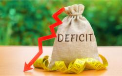 deficit, debt, money
