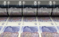 Hugo Stinnes, printing money, currency, currency reset, recession