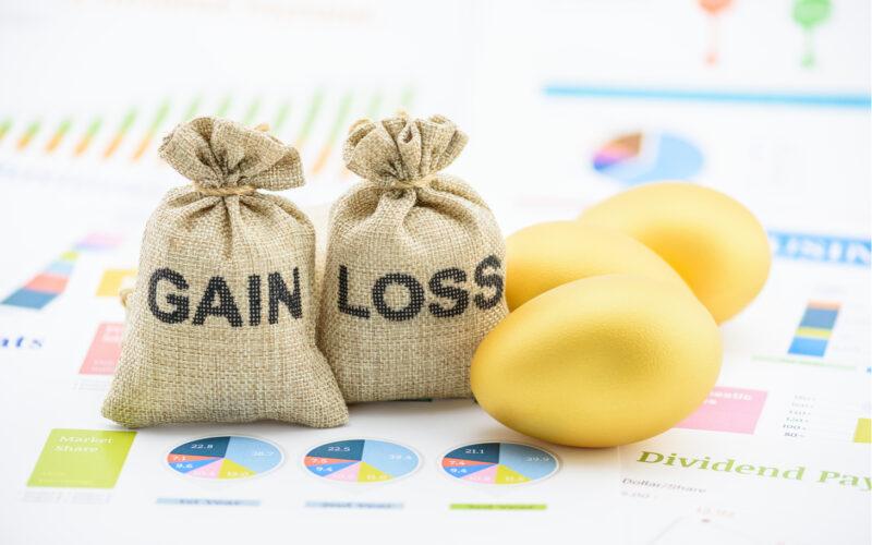 financial loss, asset loss, market crash