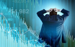 stock market, inflation, panic, fear, economic crisis