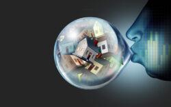 inflation bubble, housing bubble